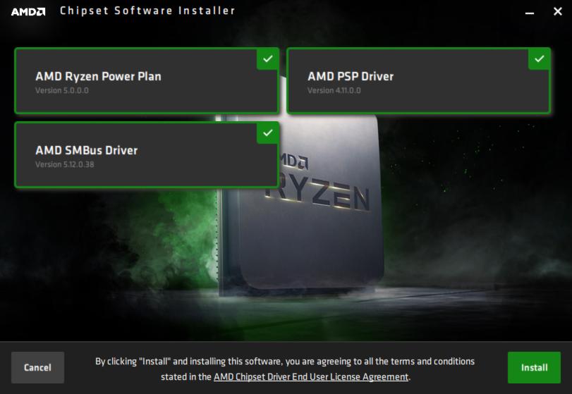 AMD Chipset Software Installer