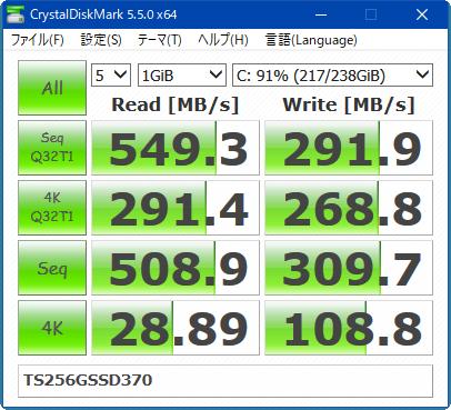 速度計測_TS256GSSD370