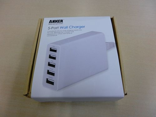 ANKER 5-PORT Wall Charger(AK-71AN25W-W5JA)
