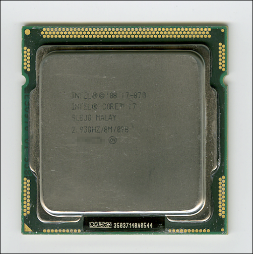 Core i7 870(2.93GHz)