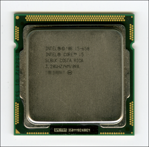 Core i5 650 (3.2GHz,4コア)