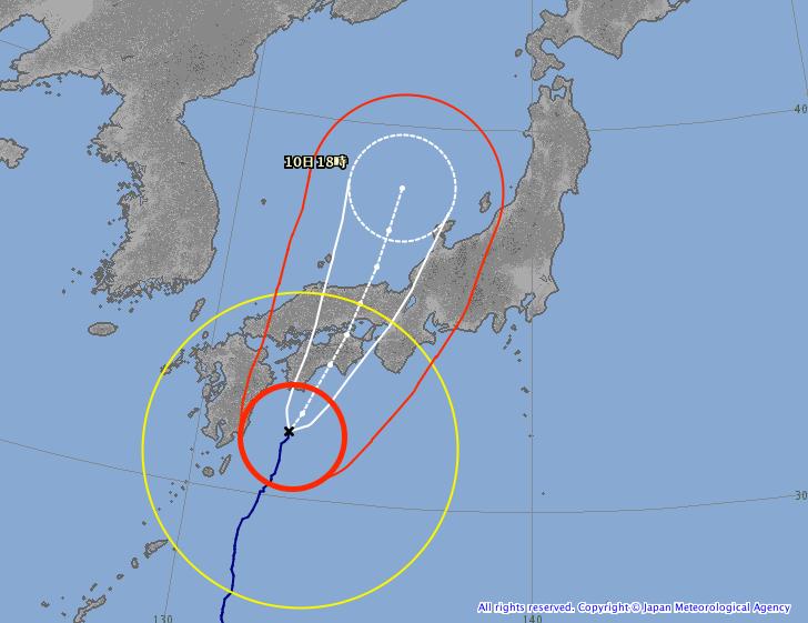台風11号(HALONG,ハーロン)