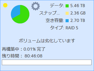 再構築_ReadyNAS104
