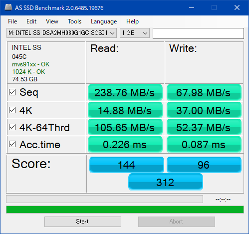 SSDSA2MH080G1GC_AS SSD Benchmark