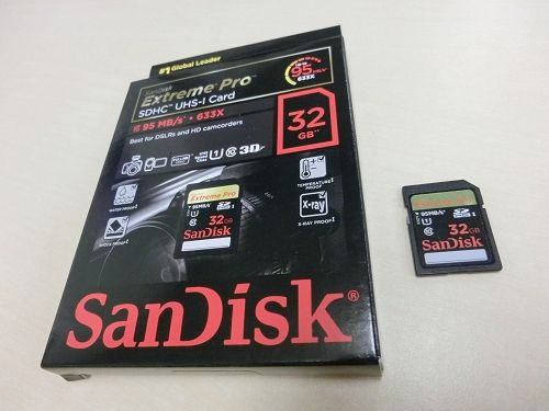 SanDisk Extreme Pro(SDSDXPA-032G)