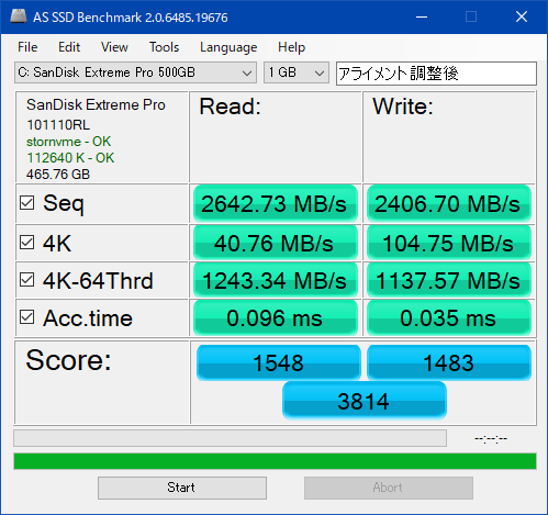 AS SSD Benchmark_SDSSDXPM2-500G-J25_002