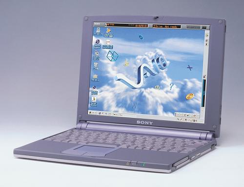 ソニーのVAIOノート(PCG-505)