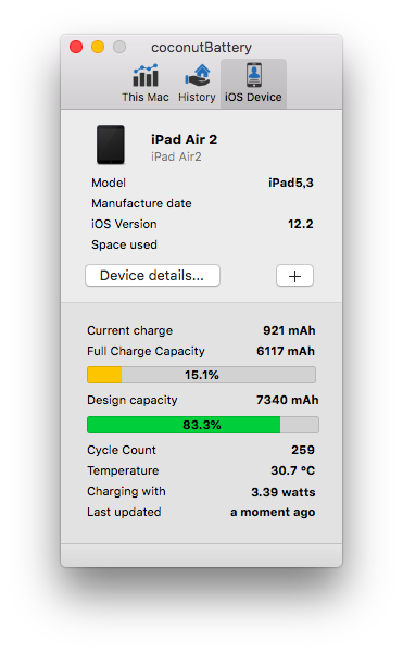 coconut Battery_iPad Air2