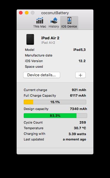 coconut Battery_iPad Air2