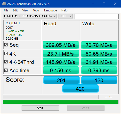 C300-MTFDDAC064MAG_AS SSD Benchmark