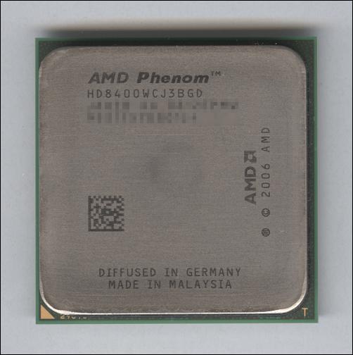 Phenom X3 8400