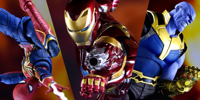 S.H.Figuarts『アベンジャーズ/インフィニティ・ウォー』シリーズで、ついに「アイアンマン マーク50」と宿敵「サノス」が激突!トニー・スタークが誇る最先端スーツ
