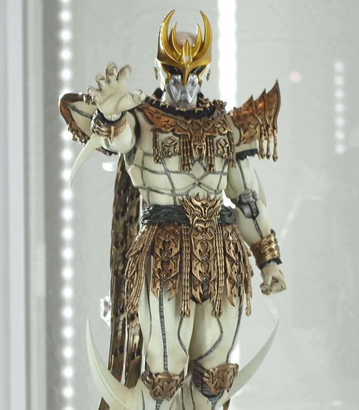 ■S.H.Figuarts(真骨彫製法) ン・ダグバ・ゼバ 参考出品「仮面ライダークウガ アルティメットフォーム」に続き、宿敵「ン・ダグバ・ゼバ」も真骨彫製法で開発中!