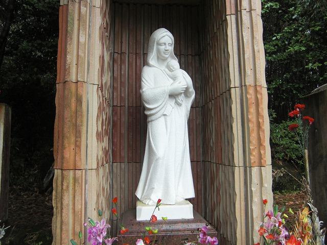 思い草:隠れキリシタン マリア像...
