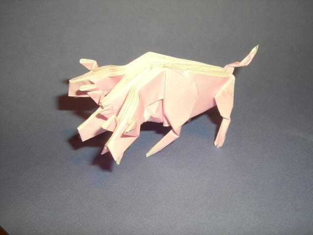 ハート 折り紙 折り紙折り方難しい動物 : blog.livedoor.jp