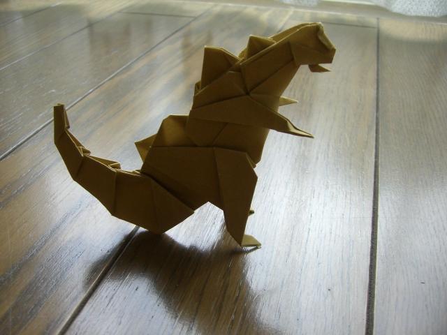 簡単 折り紙:折り紙 恐竜 折り方-blog.livedoor.jp