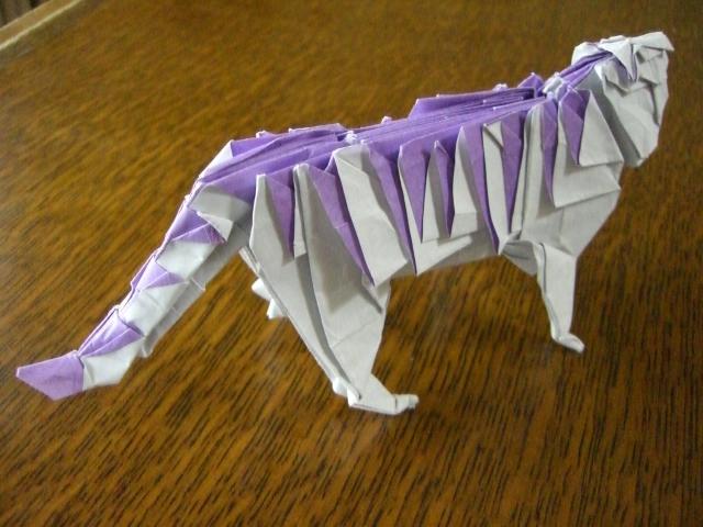 ハート 折り紙 折り紙 動物 立体 折り方 : divulgando.net