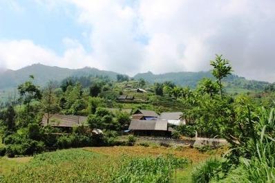 少数民族の村 ベトナム