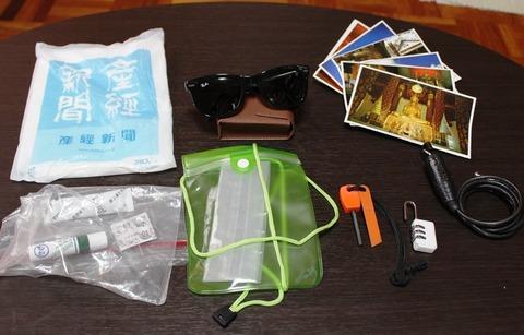 海外旅行 旅の準備 荷物 持ち物 アジア一人旅 ごみ袋