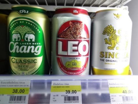 0814 タイビール チャン レオ シンハー