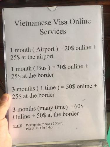ベトナムビザ Vietnamese Visa Online Services