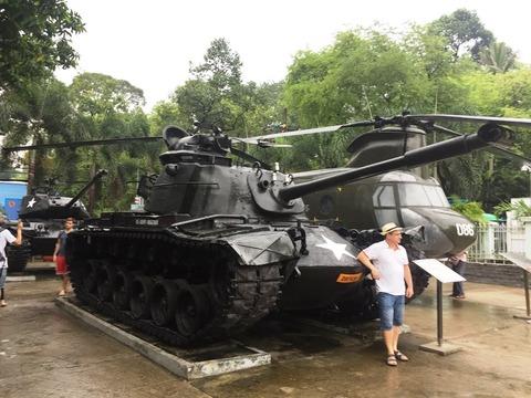 戦争証跡博物館 ベトナム ホーチミン ©アジアしあわせ特急