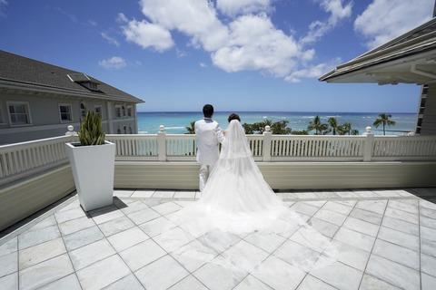 ハワイ ウエディング 新婚旅行 (2)