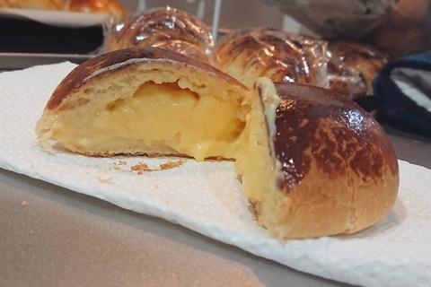 パン作り たっちゃん クリームパン ©アジアしあわせ特急