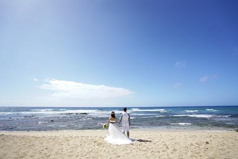 ハワイ ウエディング 新婚旅行 (1)