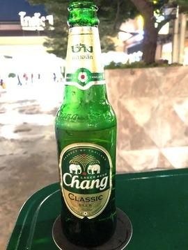 0814 チャン ビール Chang バンコク アジアティーク
