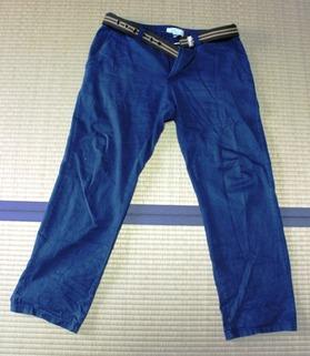 ズボン:海外旅行 旅の準備 服装 持ち物 アジア一人旅 ベトナム