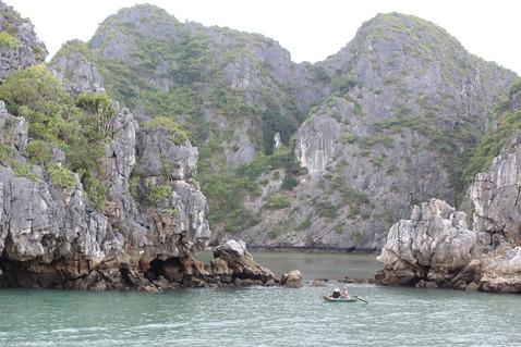 ハロン湾クルーズ ベトナム バイチャイ 奇岩