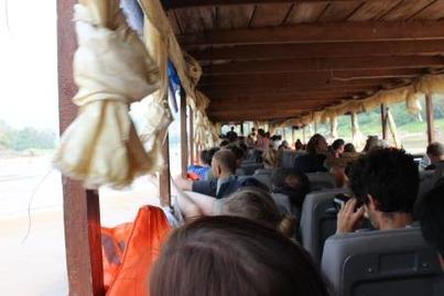 スローボート ルアンパバーン フエサイ ©アジアしあわせ特急
