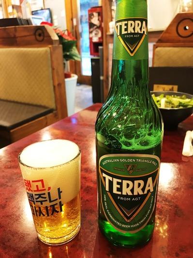 韓国 ビール TERRA