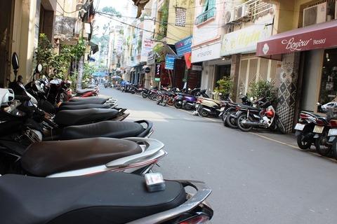 ベトナム ホーチミン バイク ©アジアしあわせ特急
