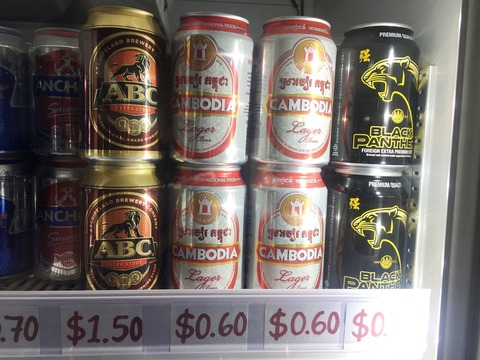 カンボジア ビール アンコール