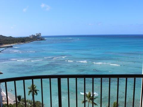 新婚旅行ハワイ