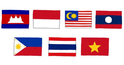 東南アジアの国々
