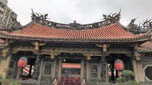龍山寺 台湾 台北 2018-12-24 16.14
