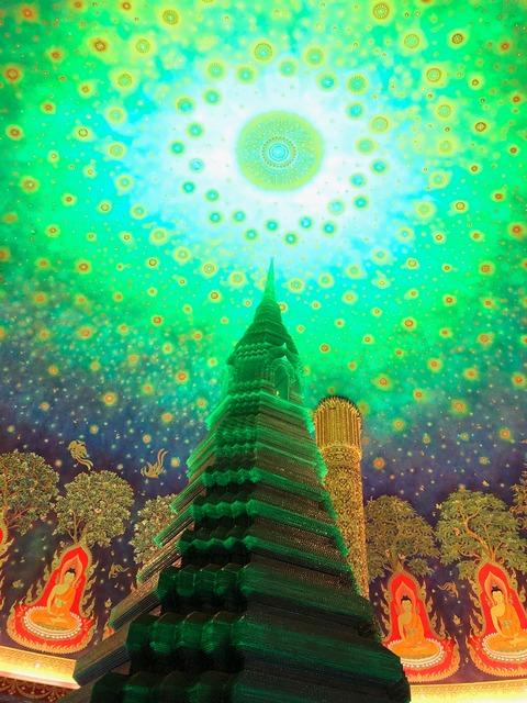 バンコク ワットパクナム Wat Paknam (10)