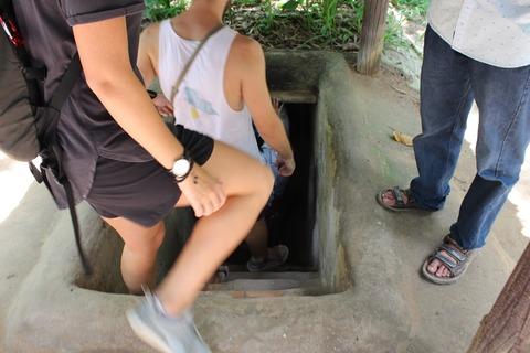 クチトンネル ベトナム ©アジアしあわせ特急
