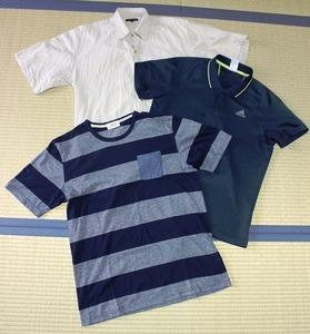 Tシャツ等:海外旅行 旅の準備 荷物 持ち物 アジア一人旅 タイ
