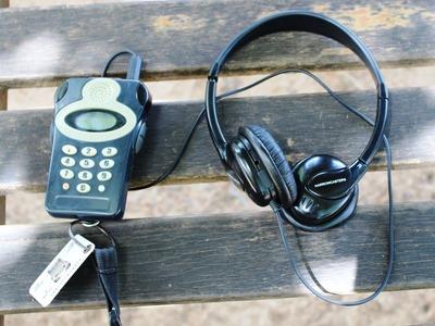 音声ガイド用機器