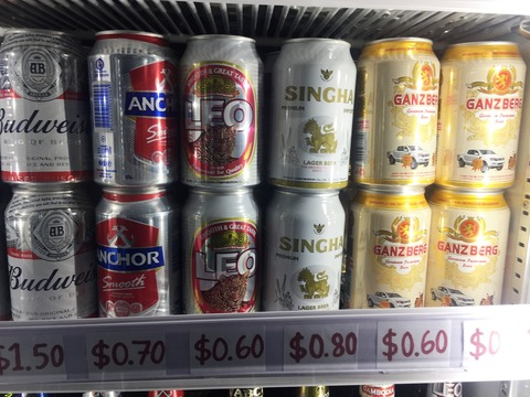 ビール カンボジア 安い