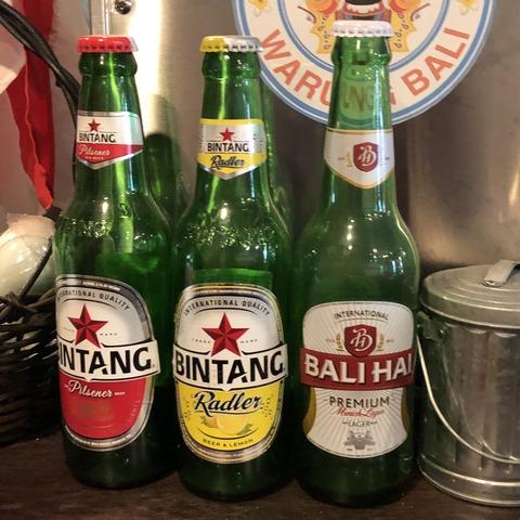 インドネシア ビール ©アジアしあわせ特急