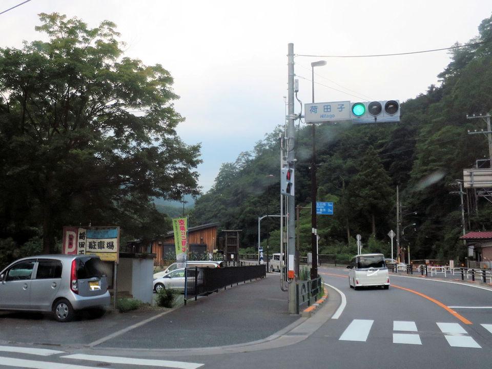 車場 秋川 渓谷 駐