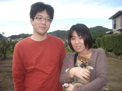 二葉ちゃん家族写真