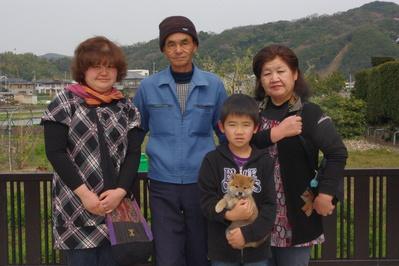 文太くん家族写真