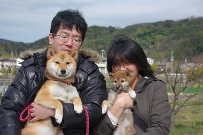 二葉ちゃん&せとかちゃん家族写真