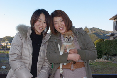 百々ちゃん家族写真